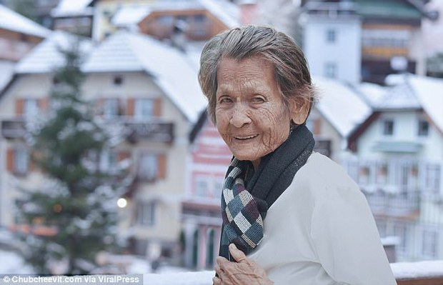 Nhiếp ảnh gia Thái Lan đưa mẹ đi du lịch vòng quanh thế giới bằng một cách rất cảm động - Ảnh 2.
