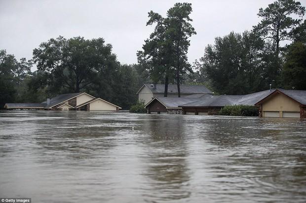 Chùm ảnh trước - sau cho thấy hậu quả kinh hoàng mà siêu bão mạnh nhất thập kỷ gây ra cho nước Mỹ - Ảnh 1.