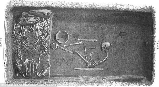 Bằng chứng đầu tiên cho thấy nữ chiến binh của tộc Viking hung bạo có tồn tại - Ảnh 3.