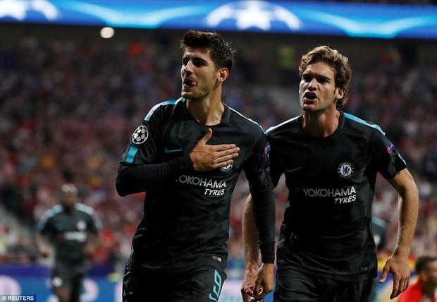 Diego Costa rầu rĩ, chứng kiến Chelsea thắng ngược Atletico - Ảnh 6.
