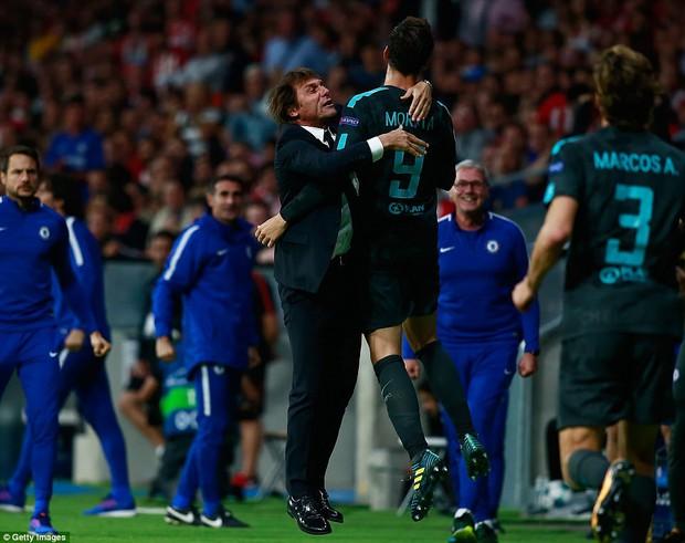Diego Costa rầu rĩ, chứng kiến Chelsea thắng ngược Atletico - Ảnh 7.