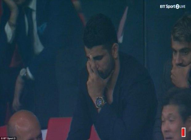 Diego Costa rầu rĩ, chứng kiến Chelsea thắng ngược Atletico - Ảnh 2.