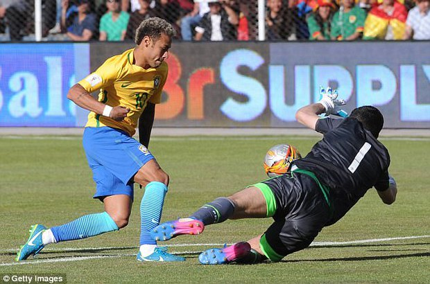 Neymar và đồng đội tuyển Brazil phải thở oxy sau trận hòa Bolivia - Ảnh 4.
