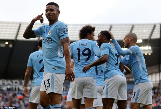Man City thắng hủy diệt, phá kỷ ghi bàn lục tồn tại 123 năm - Ảnh 4.