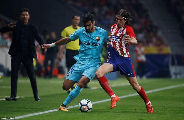 Messi tịt ngòi, Barca đứt mạch 7 trận toàn thắng ở La Liga - Ảnh 8.