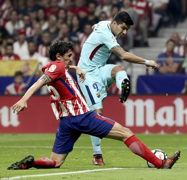 Messi tịt ngòi, Barca đứt mạch 7 trận toàn thắng ở La Liga - Ảnh 9.