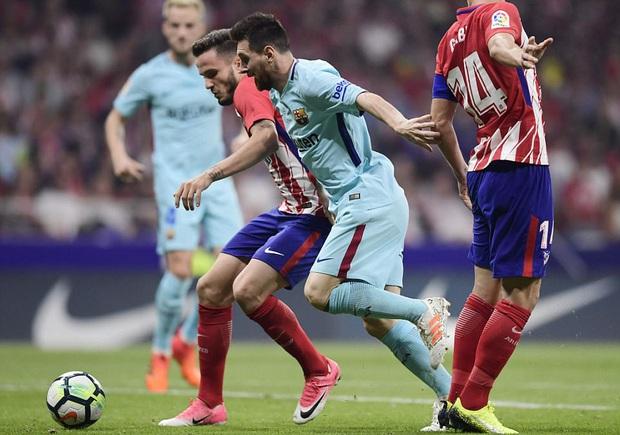 Messi tịt ngòi, Barca đứt mạch 7 trận toàn thắng ở La Liga - Ảnh 4.