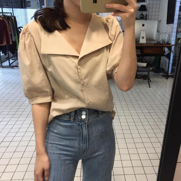 Đi học cũng nên diện đồ thật xinh, và đây là 5 kiểu áo sơmi xinh nức nở cho các nàng mùa back to school - Ảnh 22.
