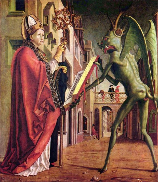 Nghi vấn người ngoài hành tinh xuất hiện trong những kiệt tác hội họa thế giới - Ảnh 1.