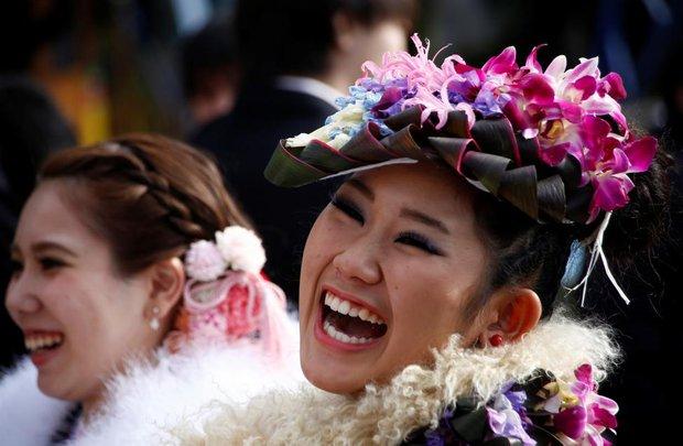 Các cô gái Nhật Bản xinh đẹp trong lễ trưởng thành - Ảnh 9.