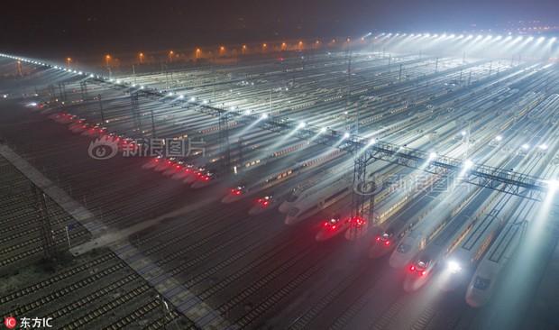 Hãy xem các nhà ga Trung Quốc chuẩn bị để ứng chiến với cuộc đại di cư mùa Tết như thế nào - Ảnh 8.