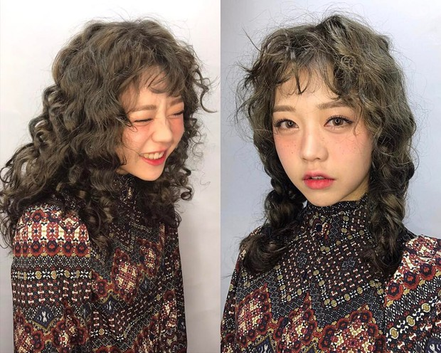 Chán tóc xoăn nhẹ nhàng, con gái Hàn rủ nhau làm tóc xoăn xù mì hoài cổ giống Sulli - Ảnh 14.