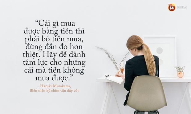 17 câu trích dẫn của Haruki Murakami, là 17 thông điệp chạm đến trái tim về tình yêu, về cuộc đời - Ảnh 9.