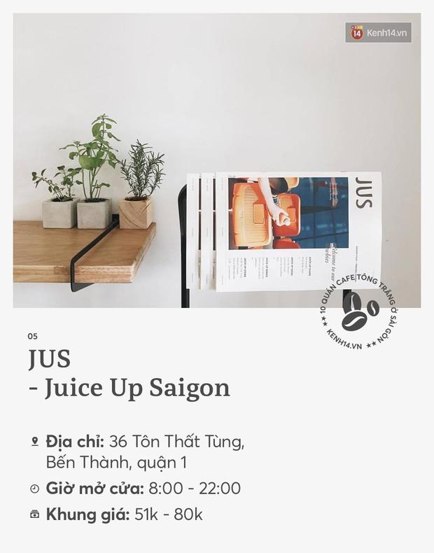 10 quán cà phê tông trắng ở Sài Gòn, cứ đến là có ảnh đẹp! - Ảnh 9.
