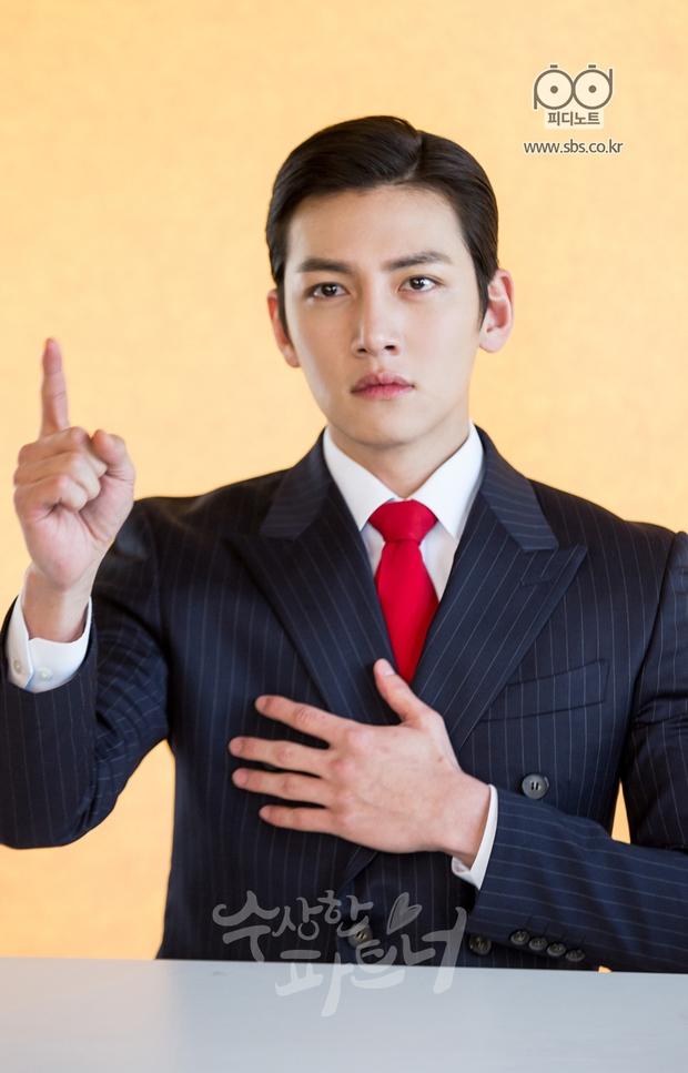 Nhìn Ji Chang Wook chải tóc bóng bẩy và hớn quá đà như này, ai mà tin anh là luật sư? - Ảnh 5.