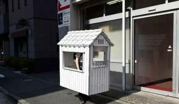 Chuyện thật như đùa: Tiếc tiền thuê nhà, chàng sinh viên Nhật Bản thiết kế nhà giấy để ở - Ảnh 4.