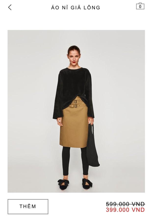 14 mẫu áo len, áo nỉ dưới 500.000 VNĐ trendy đáng sắm nhất đợt sale này của Zara - Ảnh 13.