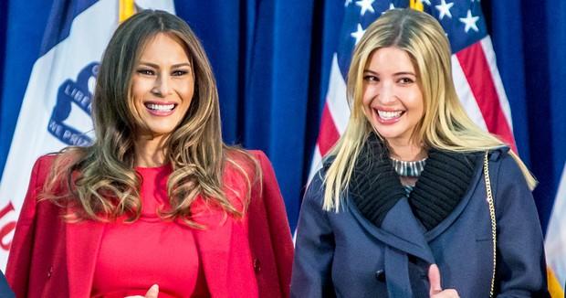 Ivanka Trump thể hiện tình cảm thân thiết với mẹ kế Melania Trump - Ảnh 4.