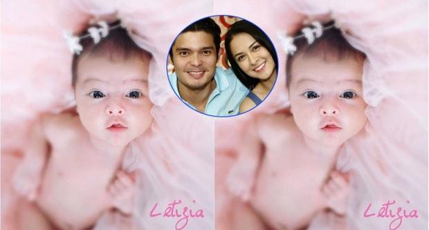 Chiêm ngưỡng vẻ đáng yêu của con gái mỹ nhân đẹp nhất Philippines - Ảnh 2.