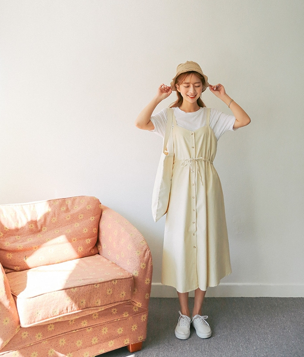Ngoài váy hoa, hè này còn 5 kiểu váy khác cũng xinh và mát hết nấc - Ảnh 32.