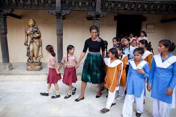 Dù phải chia tay thế nhưng người ta sẽ mãi nhớ về bà Michelle Obama với 30 hình ảnh này - Ảnh 11.