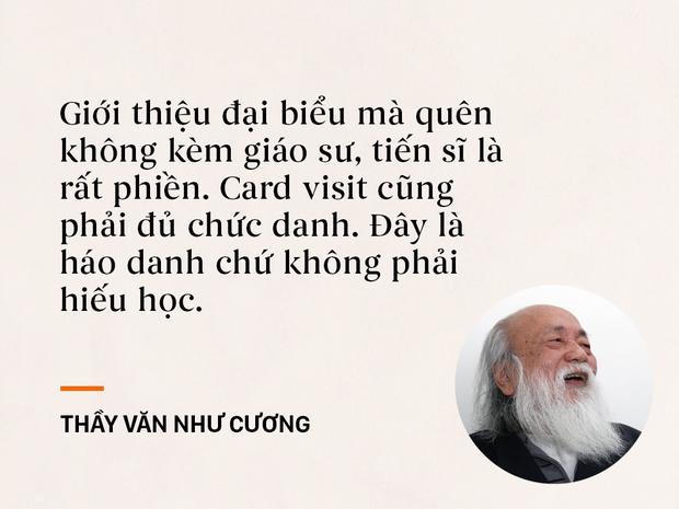 Những câu nói sống mãi trong trái tim mọi thế hệ học trò của thầy Văn Như Cương - Ảnh 7.