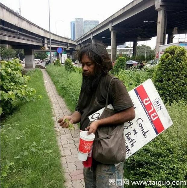 Sống lang bạt khắp nơi, nhưng người đàn ông vô gia cư vẫn nhịn đói đi bán chanh để kiếm tiền nuôi lũ mèo hoang - Ảnh 4.
