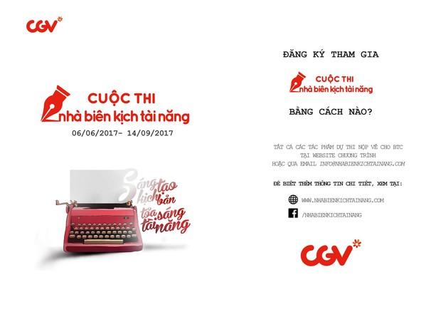 CGV khởi động cuộc thi Nhà biên kịch tài năng 2017 - Ảnh 6.