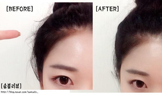Bí kíp xử lí tóc con bất trị của con gái Hàn hóa ra nằm cả ở mascara chải tóc - Ảnh 4.