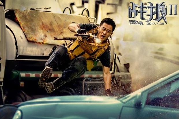 """""""Chiến Lang 2"""" vượt """"Mỹ Nhân Ngư"""", trở thành phim ăn khách nhất Trung Quốc - Ảnh 6."""