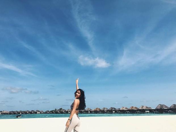 Tưởng đến Maldives nghỉ dưỡng, nào ngờ Châu Bùi được làm gương mặt thương hiệu cho Reebok - Ảnh 10.