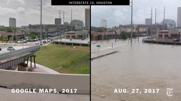 Chùm ảnh trước - sau cho thấy hậu quả kinh hoàng mà siêu bão mạnh nhất thập kỷ gây ra cho nước Mỹ - Ảnh 12.