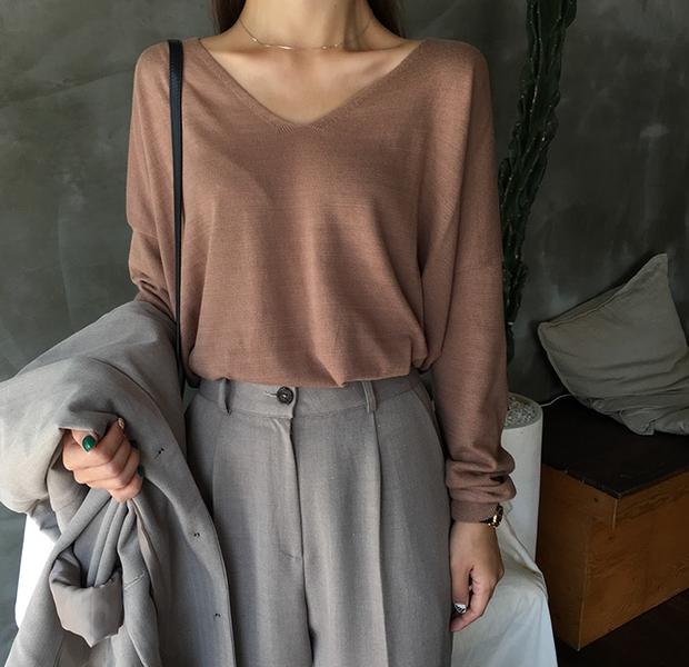 Áo dệt kim: lại thêm chiếc áo không thể thiếu của mùa thu bởi nàng nào diện vào cũng dịu dàng hơn bội phần - Ảnh 6.
