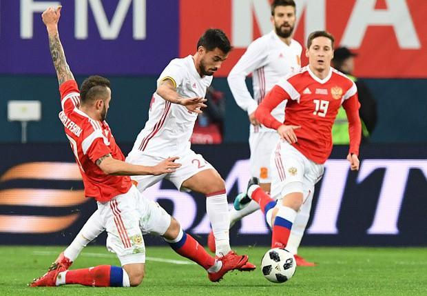 Tây Ban Nha hòa chủ nhà World Cup 2018 dù được hưởng hai quả phạt đền - Ảnh 4.