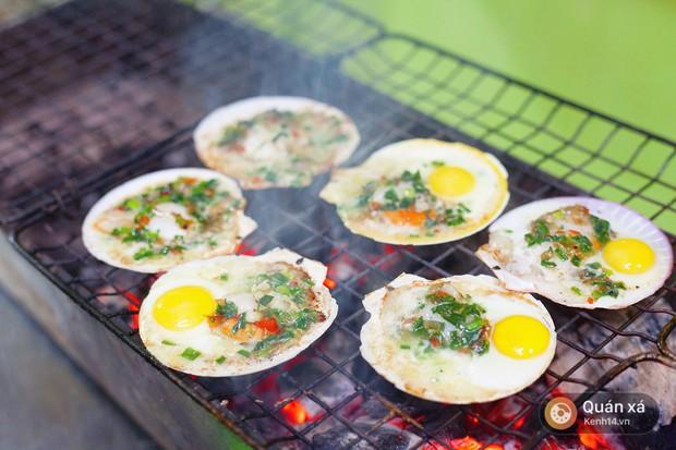 Món mới cho ngày lạnh ở Hà Nội: Sò điệp nướng trứng cút nóng hổi cực hấp dẫn - Ảnh 5.