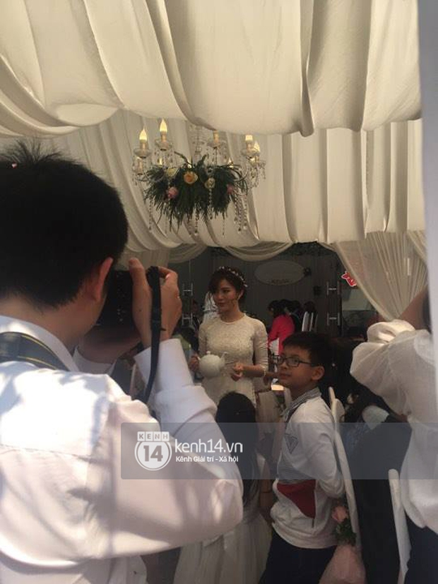 ĐỘC QUYỀN: Tú Linh M.U cực xinh đẹp trong đám cưới - Ảnh 7.