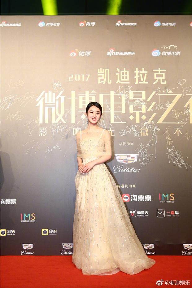 Thảm đỏ Weibo Films Night: Dương Mịch khoe vòng một căng đầy, Mỹ Nhân Ngư Lâm Duẫn sang chảnh đè bẹp đồng nghiệp - Ảnh 13.