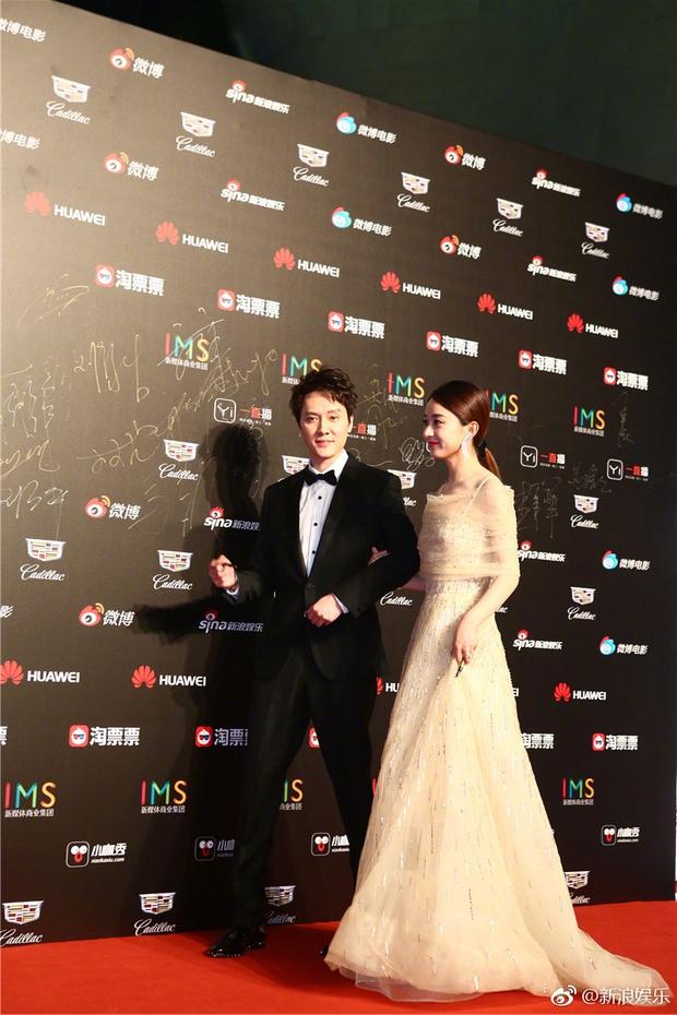 Thảm đỏ Weibo Films Night: Dương Mịch khoe vòng một căng đầy, Mỹ Nhân Ngư Lâm Duẫn sang chảnh đè bẹp đồng nghiệp - Ảnh 12.