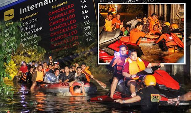 Trước khi đổ bộ vào Việt Nam, bão Tembin khiến hơn 200 người thiệt mạng và khoảng 153 người mất tích tại Philippines - Ảnh 1.