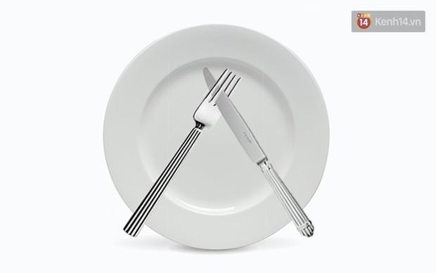 5 cách đặt dao dĩa nên ghi nhớ để là người khi ăn trông cũng sang - Ảnh 9.