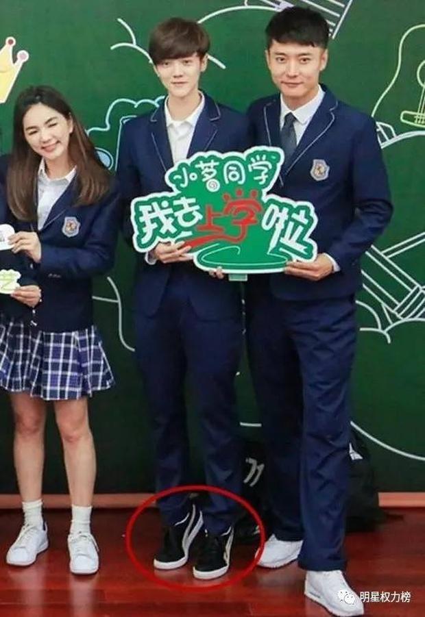 Dở khóc dở cười với những chiêu ăn gian chiều cao của sao Cbiz bị netizen bắt thóp - Ảnh 3.