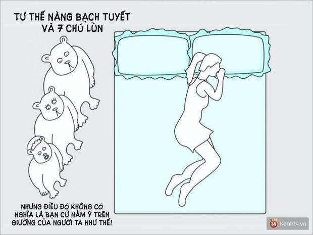 Tư thế ngủ nói lên điều gì về mối quan hệ yêu đương của bạn? - Ảnh 9.