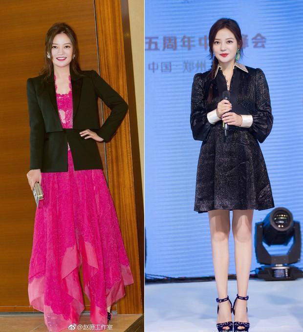 Style của bộ 3 Hoàn Châu Cách Cách: A hoàn trở thành nữ hoàng thảm đỏ sang chảnh lồng lộn, 2 công chúa lại đơn giản, nhẹ nhàng bất ngờ - Ảnh 7.