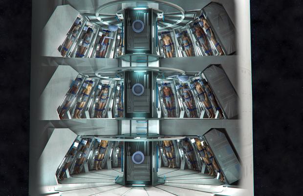 Tàu vũ trụ siêu ảo Avalon trong phim Passengers có thể biến thành thực không? - Ảnh 9.