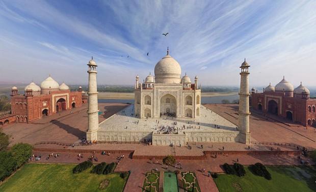 Chùm ảnh những địa danh đẹp nổi tiếng thế giới nhìn từ trên cao - Ảnh 8.