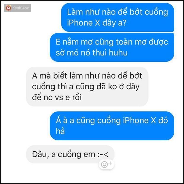 Bí kíp né thính khi cơn bão iPhone X đang hoành hành từ những anh chàng bạn trai siêu lầy lội - Ảnh 15.