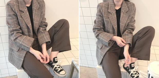 Blazer kẻ caro: Dự là sẽ hot hơn cả cardigan, denim jacket vì fashionista nào cũng đang sở hữu 1 cái - Ảnh 7.