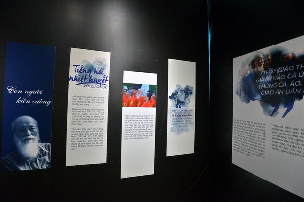 Nghẹn ngào triển lãm Dấu ấn tri ân cố nhà giáo Văn Như Cương nhân ngày 20/11 - Ảnh 5.