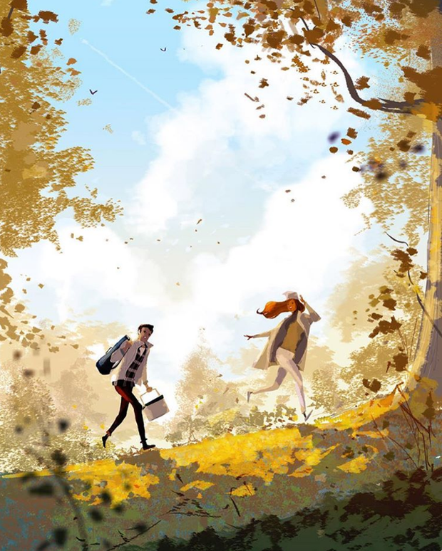 Bộ tranh: Hạnh phúc lớn lao hóa ra lại đến từ những điều thật giản đơn - Ảnh 15.
