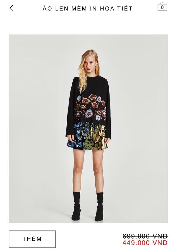 14 mẫu áo len, áo nỉ dưới 500.000 VNĐ trendy đáng sắm nhất đợt sale này của Zara - Ảnh 6.